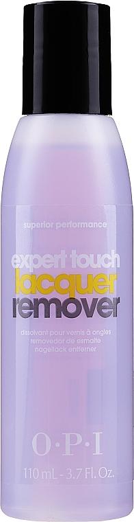 Soluție pentru îndepărtarea ojei, cu aromă de citrice - O.P.I Expert Touch — Imagine N3