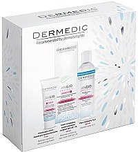 Parfumuri și produse cosmetice Set - Dermedic Angio (cr/40ml + cr/7ml + micel/water/100ml)