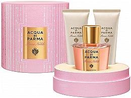 Parfumuri și produse cosmetice Acqua di Parma Rosa Nobile - Set (edc/100ml + sh/gel/75ml + b/cr/75ml)