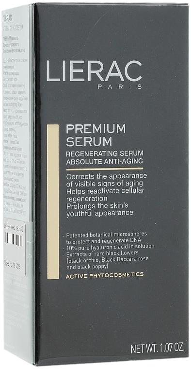 Ser anti-rid - Lierac Exclusive Premium Serum Regenerant — Imagine N4