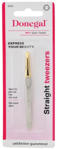 "Pensetă ""Goldrush"", 9724 - Donegal Straight Tweezers — Imagine N2"
