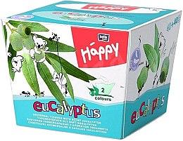 Parfumuri și produse cosmetice Șervețele universale, eucalipt - Bella Baby Happy