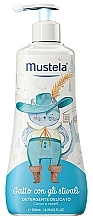 """Parfumuri și produse cosmetice Detergent delicat pentru corp și păr """"Motanul încălțat"""" - Mustela Delicate Body & Hair Cleanser"""