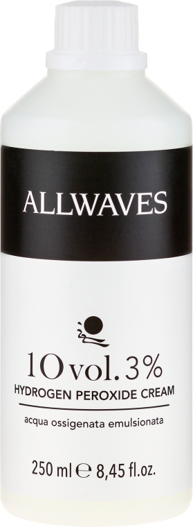 Cremă oxidantă - Allwaves Cream Hydrogen Peroxide 3% — Imagine N1