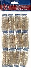 Parfumuri și produse cosmetice Bigudiuri 21/63 mm, albastre - Ronney Professional Wire Curlers