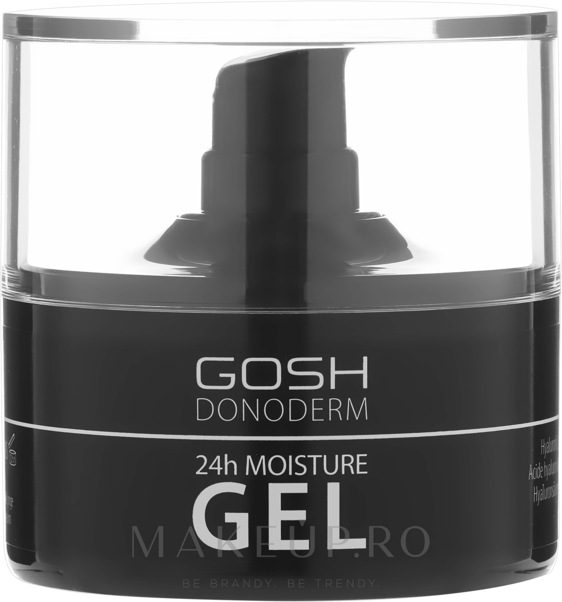Gel hidratant pentru față - Gosh Donoderm 24h Moisture Gel Prestige — Imagine 50 ml