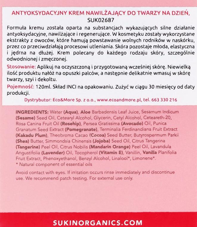 Cremă hidratantă de zi pentru față - Sukin Rose Hip Hydrating Day Cream — Imagine N3