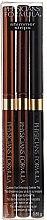 Parfumuri și produse cosmetice Eyeliner tip creion - Physicians Formula Shimmer Strips Custom Eye Enhancing Eyeliner Trio Warm Nude Eyes