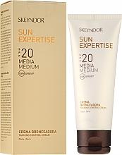 Parfumuri și produse cosmetice Cremă cu protecție solară SPF20 - Skeyndor Sun Expertise Tanning Control Cream SPF20