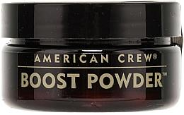 Pulbere anti-gravitație pentru volum, cu efect mat - American Crew Boost Powder — Imagine N2