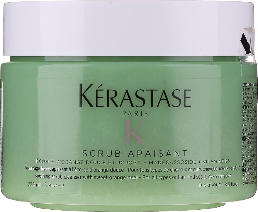 Scrub calmant pentru scalp sensibil - Kerastase Fusio-Scrub Apaisant — Imagine N1