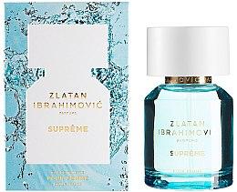 Parfumuri și produse cosmetice Zlatan Ibrahimovic Supreme Pour Femme - Apă de toaletă