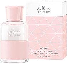Parfumuri și produse cosmetice S.Oliver So Pure Women - Apă de toaletă