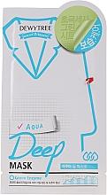 Parfumuri și produse cosmetice Mască hidratantă pentru față - Dewytree Aqua Deep Mask
