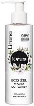 Parfumuri și produse cosmetice Gel de curățare pentru față - Lirene Natura Eco Gel