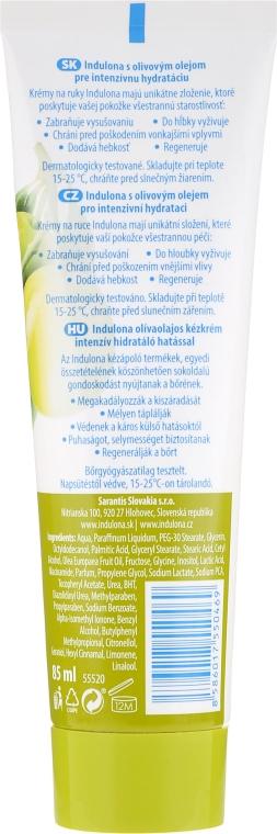 Cremă hidratantă pentru mâini - Indulona Oliva Hand Cream — Imagine N2