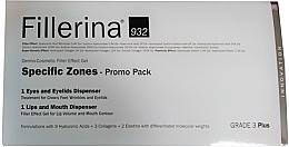 Parfumuri și produse cosmetice Set - Fillerina Grade 3+ (lips/gel/7ml + eye/gel/15ml)