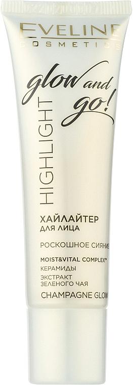 Iluminator pentru față - Eveline Cosmetics Highlight Glow And Go