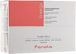 Parfumuri și produse cosmetice Fiole- loțiune împotriva căderii părului - Fanola Energy Anti Hair Loss Lotion