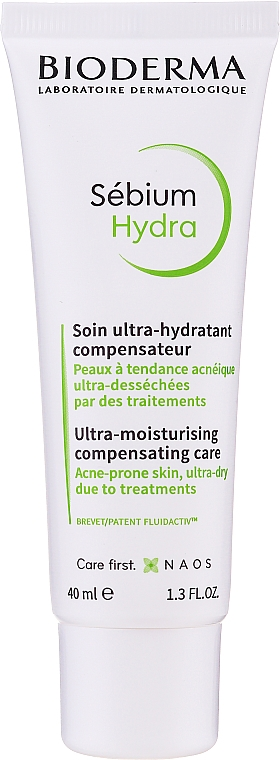 Cremă hidratantă - Bioderma Sebium Hydra Moisturising Cream — Imagine N1