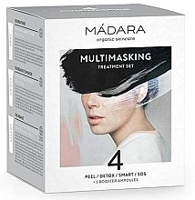 Parfumuri și produse cosmetice Set - Madara Cosmetics Multimasking Treatment Set (f/mask/12,5ml*4 + f/ampoule/3ml*2)