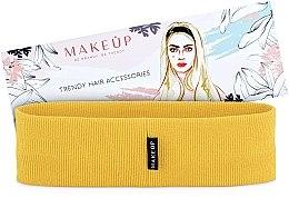 """Parfumuri și produse cosmetice Bandă elastică pentru păr """"Be Beauty"""", galbenă - MakeUp"""