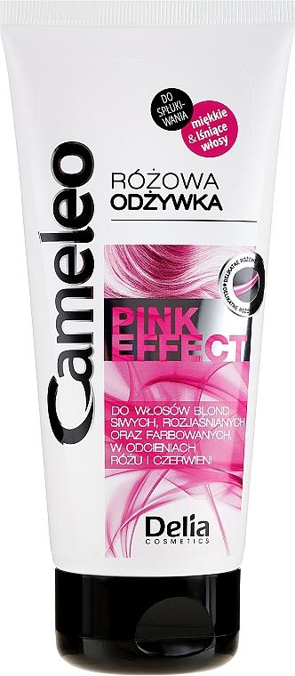Balsam cu nuanță roz pentru păr - Delia Cosmetics Cameleo Pink Effect