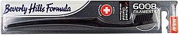 Parfumuri și produse cosmetice Periuță moale de dinți - Beverly Hills Formula 6008 Filament Charcoal Toothbrush