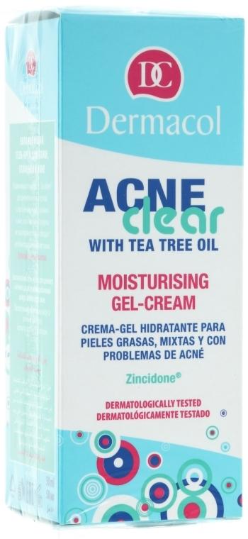 Gel-cremă hidratant - Dermacol Acne Clear Moisturising Gel-Cream