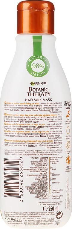 Mască pentru păr deteriorat - Garnier Botanic Therapy Hair Milk Mask — Imagine N2