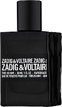 Parfumuri și produse cosmetice Zadig & Voltaire This is Him - Apă de toaletă (tester cu capac)