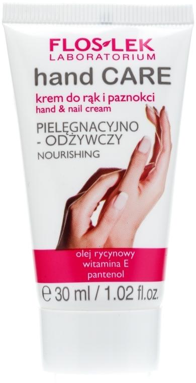 Cremă nutritivă pentru mâini și unghii - Floslek Hand Care Hand And Nail Cream Nourishing  — Imagine N4