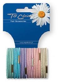 Elastice pentru păr 24 buc., 21275 - Top Choice