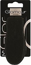 Parfumuri și produse cosmetice Agrafă de păr, neagră - Glamour