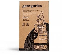 """Parfumuri și produse cosmetice Tablete pentru curățarea dinților """"Carbon activat"""" - Georganics Natural Toothtablets Activated Charcoal (rezervă)"""
