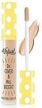Parfumuri și produse cosmetice Concealer cu efect iluminator - Virtual Dr.Cover & Mrs.Bright