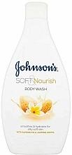 """Parfumuri și produse cosmetice Gel de duș """"Migdale și Iasomie"""" - Johnson`s Body Wash Soft & Pamper"""