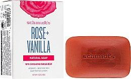 Parfumuri și produse cosmetice Săpun - Schmidt's Naturals Bar Soap Rose Vanilla