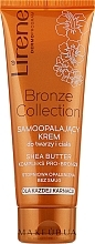 Parfumuri și produse cosmetice Cremă autobronzantă pentru față și corp - Lirene Body Arabica Face & Body Cream