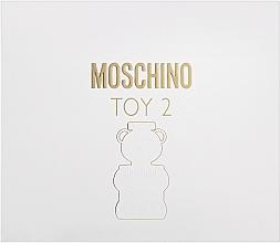 Parfumuri și produse cosmetice Moschino Toy 2 - Set (edp/50ml + b/lot/50ml + sh/gel/50ml)