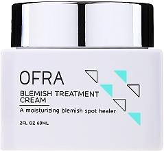 Parfumuri și produse cosmetice Cremă împotriva petelor pigmentare pentru față - Ofra Blemish Treatment Cream