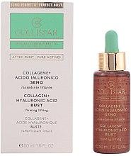 Parfumuri și produse cosmetice Concentrat cu efect de lifting pentru bust - Collistar Attivi Puri Collagene + Acido Ialuronico