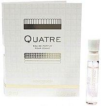 Parfumuri și produse cosmetice Boucheron Quatre Boucheron Pour Femme - Apă de parfum (mostră)