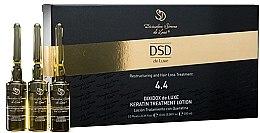 Loțiune revitalizantă cu cheratină Dixidox De Luxe N 4.4 - Divination Simone De Luxe Dixidox De Luxe Keratin Treatment Lotion — Imagine N1