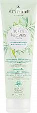 Parfumuri și produse cosmetice Balsam pentru păr deteriorat - Attitude Conditioner Nourishing & Strengthening Grape Seed Oil & Olive Leaves