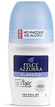 Parfumuri și produse cosmetice Deodorant roll-on - Felce Azzurra Deo Roll-on IdraTalc Classic