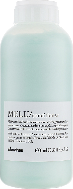 Balsam pentru părul fragil - Davines Melu Conditioner Anti-Rottura Lucidante — Imagine N5