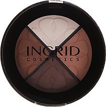 Parfumuri și produse cosmetice Fard de ochi - Ingrid Cosmetics Smoky Eyes Eye Shadows