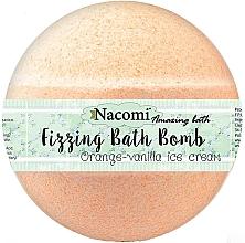 Parfumuri și produse cosmetice Bilă efervescentă pentru baie - Nacomi Orange Vanilla Bath Bomb