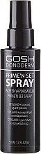 Parfumuri și produse cosmetice Spray de fixare - Gosh Donoderm Prime`n Set